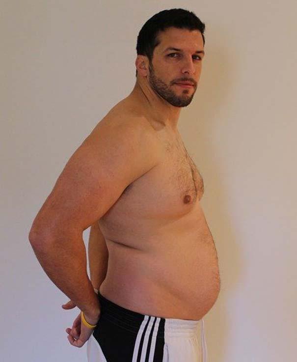 Fit2Fat2Fit: Personal Trainer έγινε παχύσαρκος και ξανά γυμνασμένος μέσα σε 1 χρόνο (23)