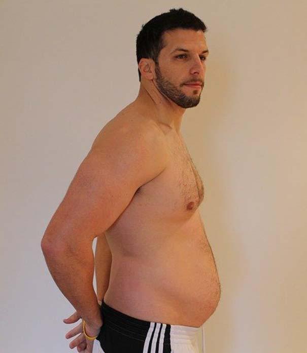 Fit2Fat2Fit: Personal Trainer έγινε παχύσαρκος και ξανά γυμνασμένος μέσα σε 1 χρόνο (37)