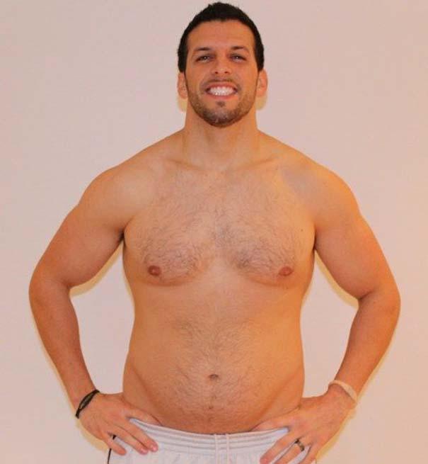 Fit2Fat2Fit: Personal Trainer έγινε παχύσαρκος και ξανά γυμνασμένος μέσα σε 1 χρόνο (38)