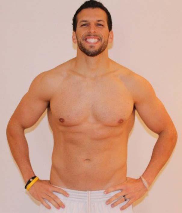 Fit2Fat2Fit: Personal Trainer έγινε παχύσαρκος και ξανά γυμνασμένος μέσα σε 1 χρόνο (52)