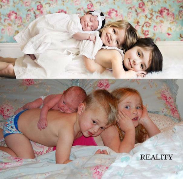 Φωτογράφιση των παιδιών σου: Προσδοκίες vs Πραγματικότητα (2)
