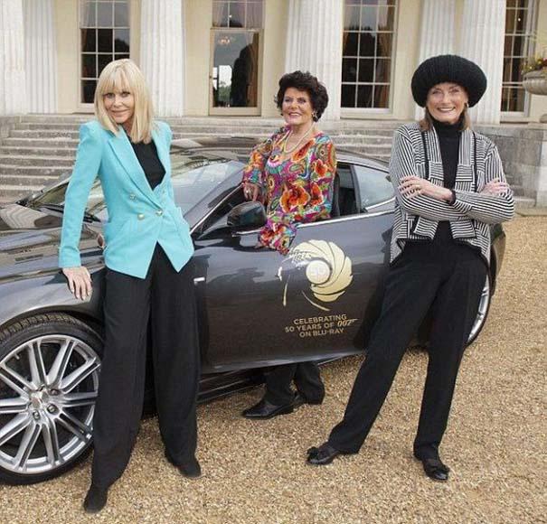 Πως είναι σήμερα οι γυναίκες από κλασσικές ταινίες του James Bond (1)