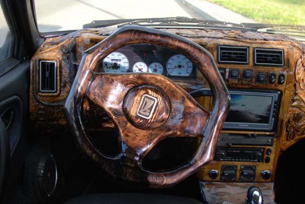 Ένα Lada με μοναδική εσωτερική επένδυση (3)