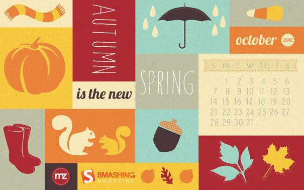 Wallpapers ημερολόγια Οκτωβρίου 2012 (1)