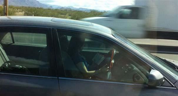 Παράξενες κι επικίνδυνες συνήθειες στην οδήγηση (10)