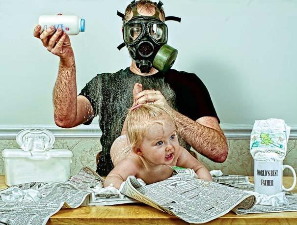 Πατέρας και κόρη σε απίθανες φωτογραφίες (1)
