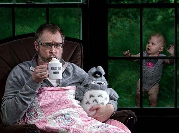 Πατέρας και κόρη σε απίθανες φωτογραφίες (7)