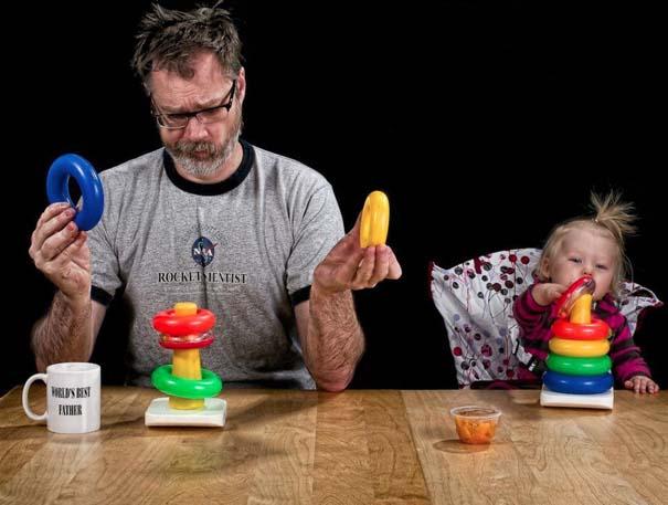 Πατέρας και κόρη σε απίθανες φωτογραφίες (8)