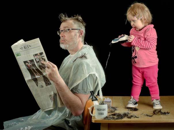 Πατέρας και κόρη σε απίθανες φωτογραφίες (9)