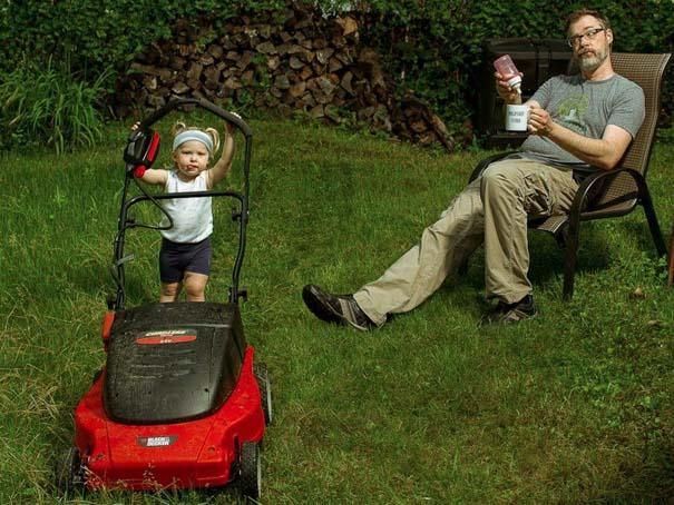 Πατέρας και κόρη σε απίθανες φωτογραφίες (10)