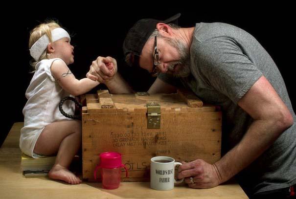 Πατέρας και κόρη σε απίθανες φωτογραφίες (14)