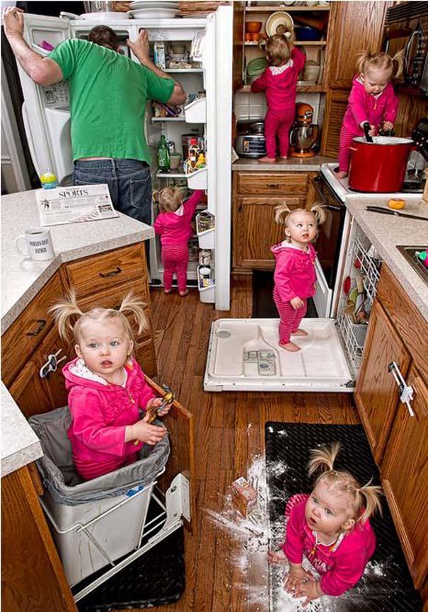 Πατέρας και κόρη σε απίθανες φωτογραφίες (15)