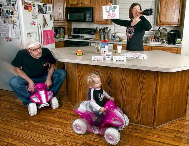 Πατέρας και κόρη σε απίθανες φωτογραφίες (17)