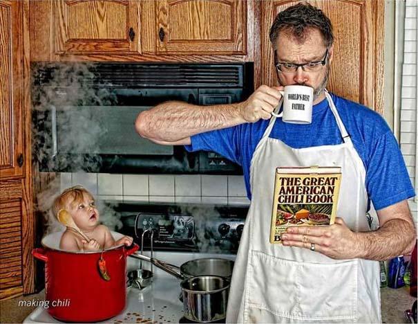 Πατέρας και κόρη σε απίθανες φωτογραφίες (21)
