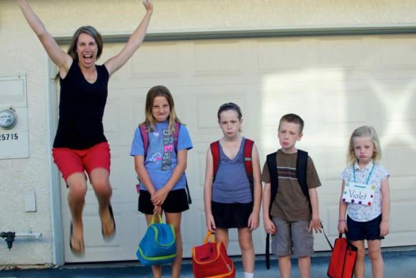 Επιστροφή στο σχολείο | Φωτογραφία της ημέρας