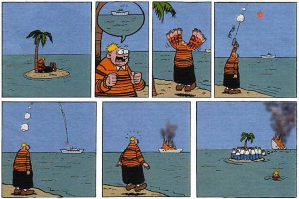 Ο ναυαγός και η διάσωση... | Φωτογραφία της ημέρας