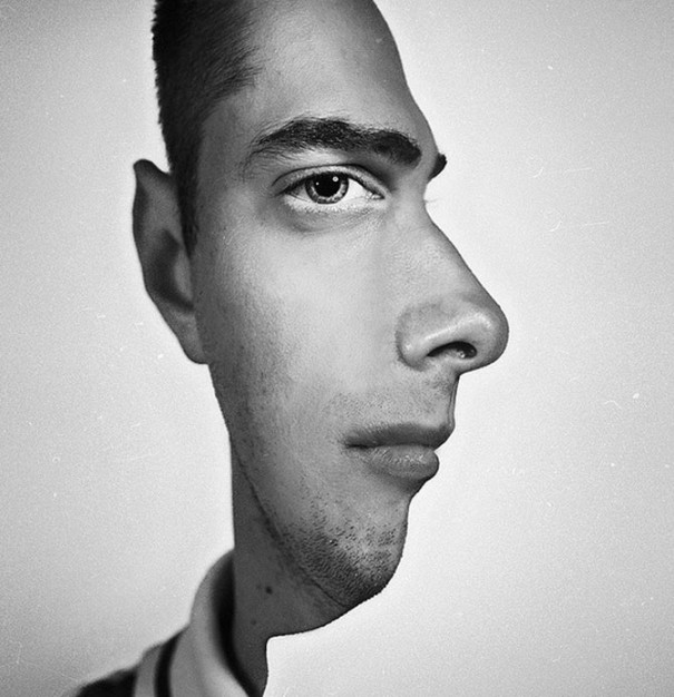 Ευρηματική φωτογραφία προφιλ που μπερδεύει το μυαλό | Φωτογραφία της ημέρας