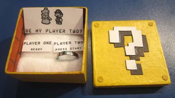 Πρόταση γάμου για fans του Super Mario (5)