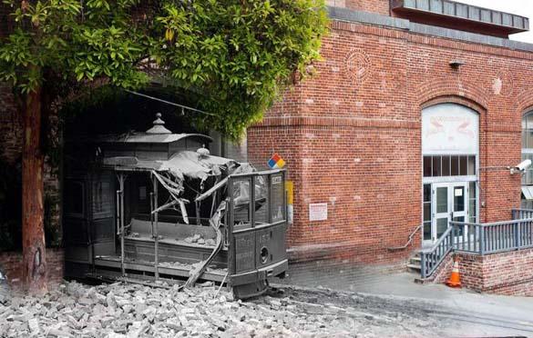 San Francisco μετά τον καταστροφικό σεισμό του 1906 και σήμερα (2)