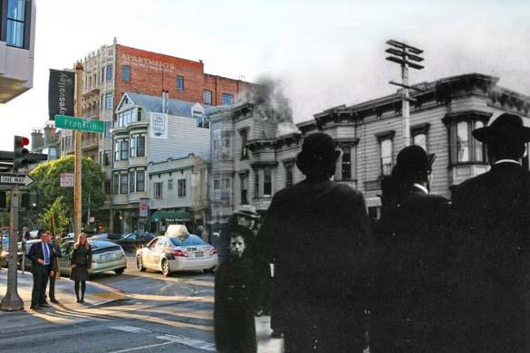 San Francisco μετά τον καταστροφικό σεισμό του 1906 και σήμερα (3)