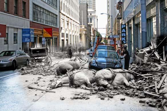 San Francisco μετά τον καταστροφικό σεισμό του 1906 και σήμερα (5)