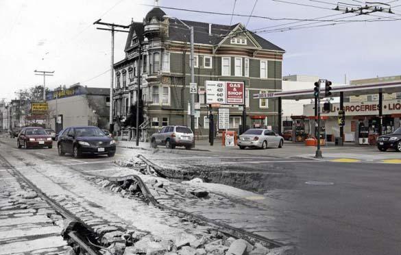 San Francisco μετά τον καταστροφικό σεισμό του 1906 και σήμερα (6)