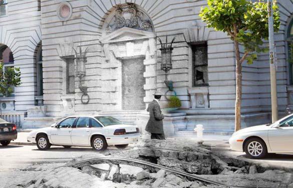 San Francisco μετά τον καταστροφικό σεισμό του 1906 και σήμερα (14)