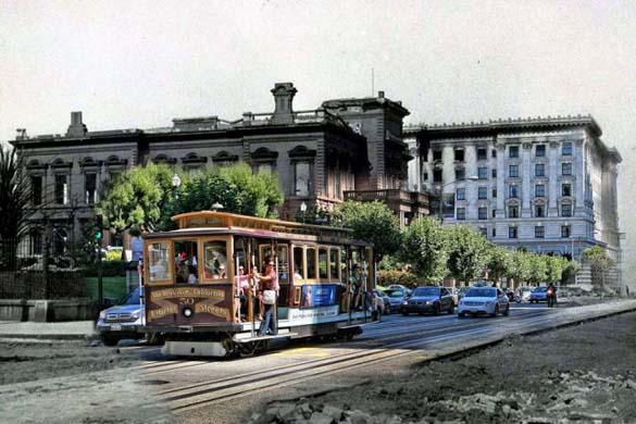 San Francisco μετά τον καταστροφικό σεισμό του 1906 και σήμερα (17)