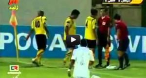 Χειροβομβίδα εξερράγη σε αγώνα ποδοσφαίρου! (Video)