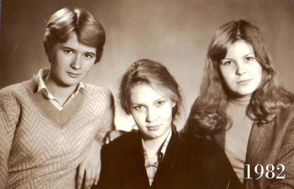 3 φίλες φωτογραφίζονται μαζί επί 30 χρόνια (1)