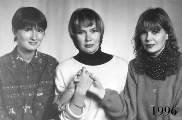 3 φίλες φωτογραφίζονται μαζί επί 30 χρόνια (10)
