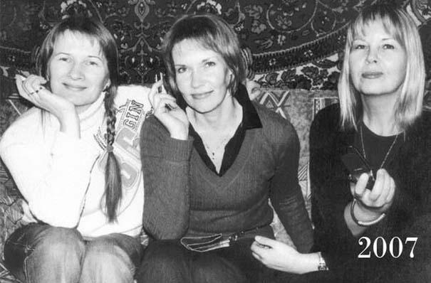 3 φίλες φωτογραφίζονται μαζί επί 30 χρόνια (13)