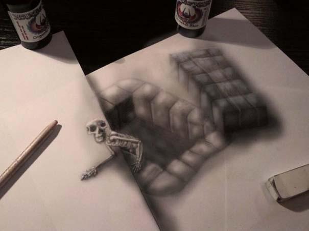 Εκπληκτικές 3D ζωγραφιές που «βγαίνουν» απ' το χαρτί (8)