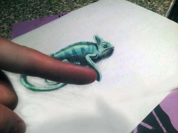 Εκπληκτικές 3D ζωγραφιές που «βγαίνουν» απ' το χαρτί (14)