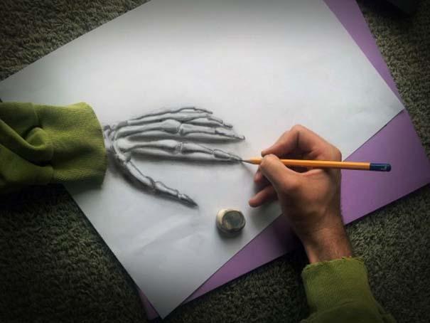 Εκπληκτικές 3D ζωγραφιές που «βγαίνουν» απ' το χαρτί (18)
