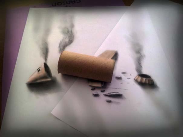 Εκπληκτικές 3D ζωγραφιές που «βγαίνουν» απ' το χαρτί (22)