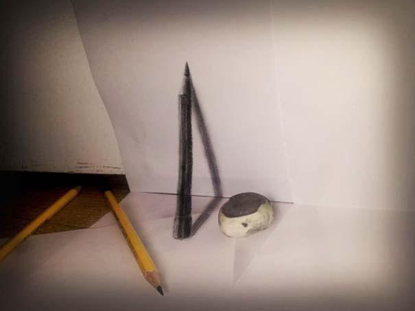 Εκπληκτικές 3D ζωγραφιές που «βγαίνουν» απ' το χαρτί (25)