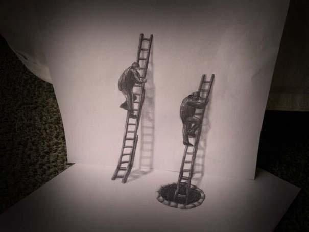 Εκπληκτικές 3D ζωγραφιές που «βγαίνουν» απ' το χαρτί (26)