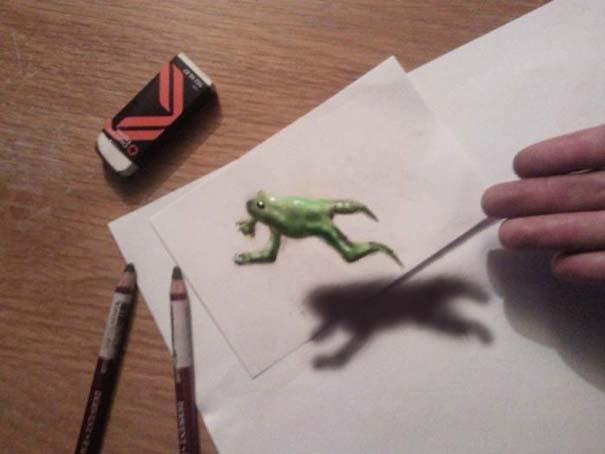 Εκπληκτικές 3D ζωγραφιές που «βγαίνουν» απ' το χαρτί (27)