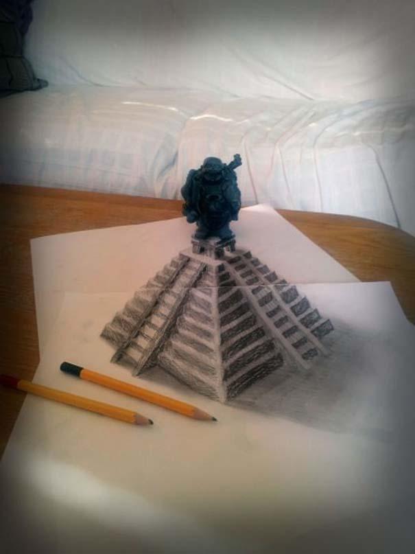 Εκπληκτικές 3D ζωγραφιές που «βγαίνουν» απ' το χαρτί (30)