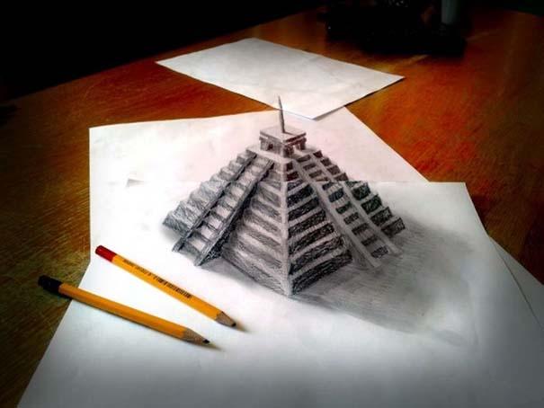 Εκπληκτικές 3D ζωγραφιές που «βγαίνουν» απ' το χαρτί (31)