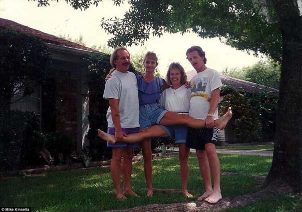 4 αδέρφια φωτογραφίζονται σε μια θεότρελη πόζα επί 25 χρόνια (22)