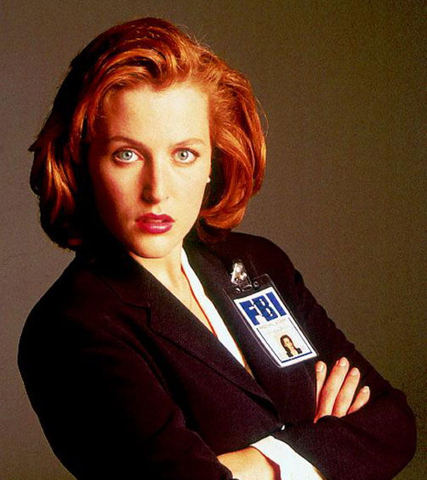 H «Πράκτορας Scully» από την σειρά X-Files 20 χρόνια μετά... (1)