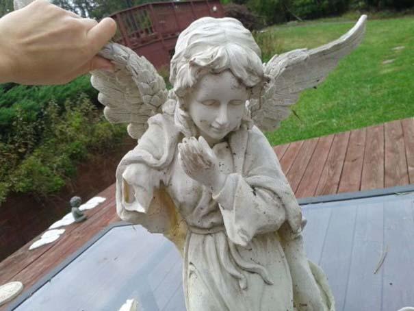 Το άγαλμα αγγέλου έκρυβε μια έκπληξη (1)