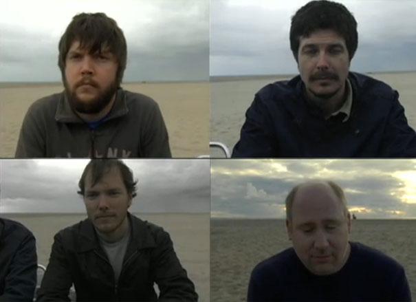4 άνδρες προσπαθούν να κλάψουν