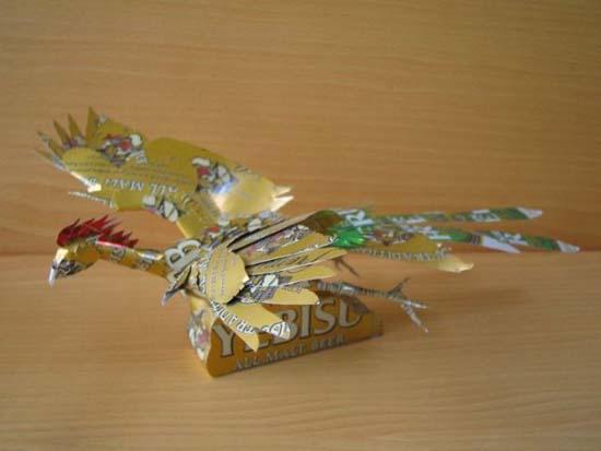 Απίστευτες δημιουργίες από κουτάκια αναψυκτικών (3)