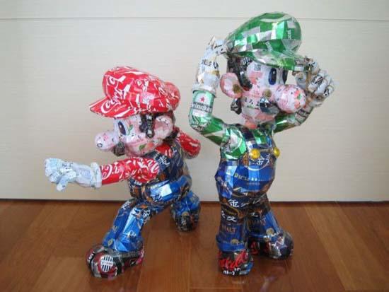 Απίστευτες δημιουργίες από κουτάκια αναψυκτικών (15)
