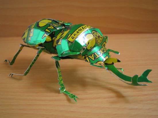 Απίστευτες δημιουργίες από κουτάκια αναψυκτικών (43)