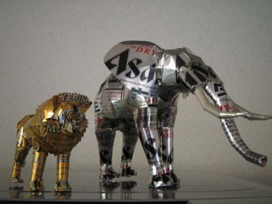Απίστευτες δημιουργίες από κουτάκια αναψυκτικών (46)
