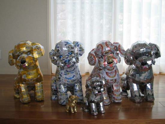 Απίστευτες δημιουργίες από κουτάκια αναψυκτικών (50)